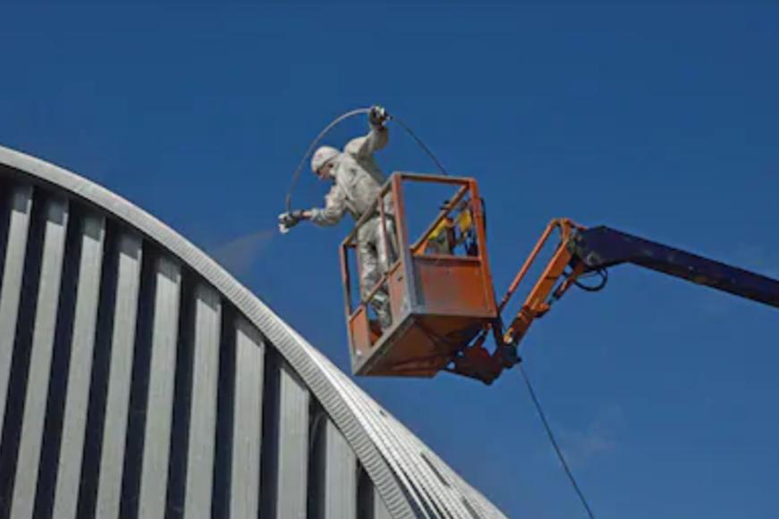 malowanie dachu racibórz sampos 4