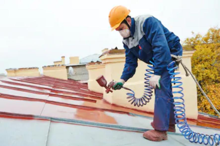 malowanie dachu racibórz sampos